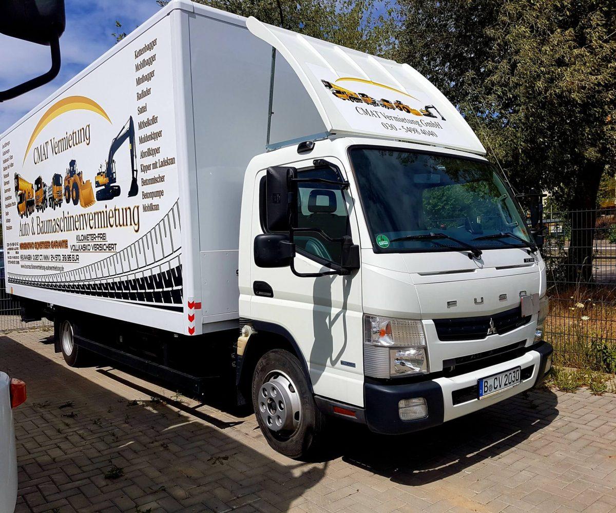 LKW-Lastkraftwagen Vermietung in Berlin
