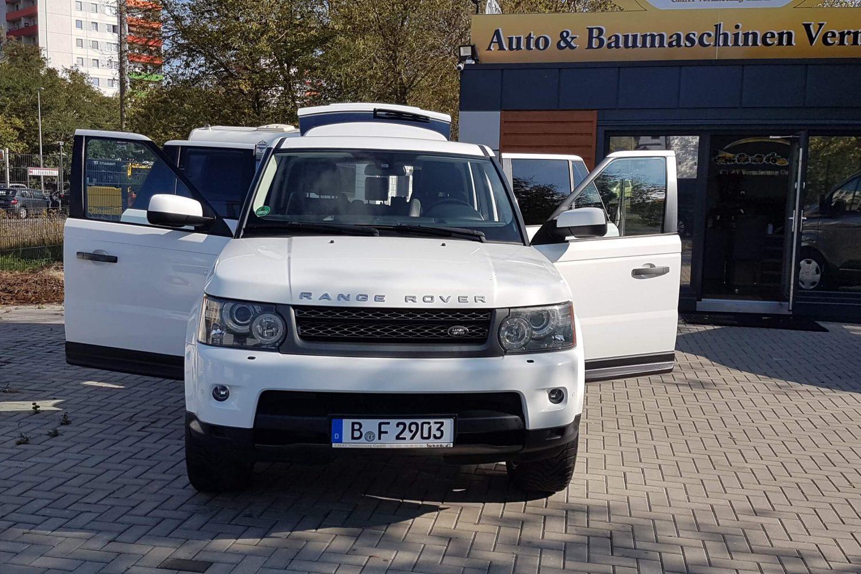 Range Rover günstig mieten in Berlin